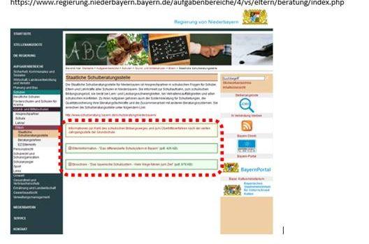 Informationsveranstaltung für Eltern mit Kindern in der (2.) 3. Jgst.